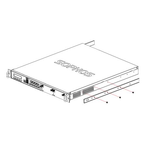 Sophos Schienenmontage-Kit XG/SG 5xx/6xx (RMEZTCHRU)