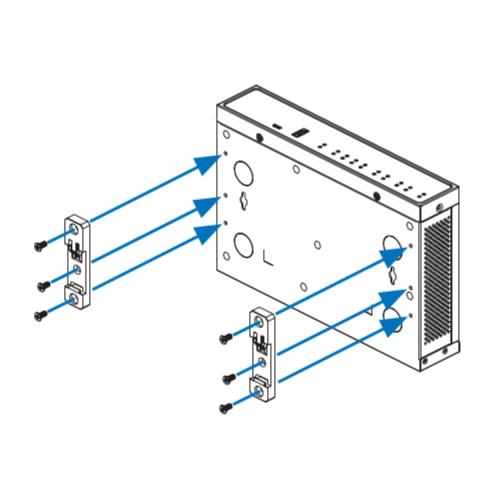Sophos Schienenmontage-Kit SD-RED 20 & SD-RED 60 (RMRZTCHAA)