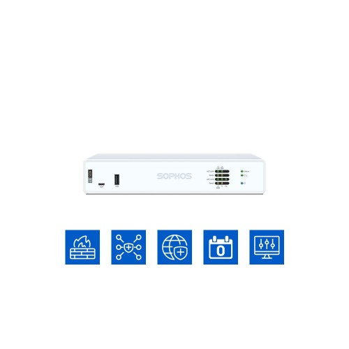 Sophos XGS 87 mit Xstream Protection (IA8B1CSEU)