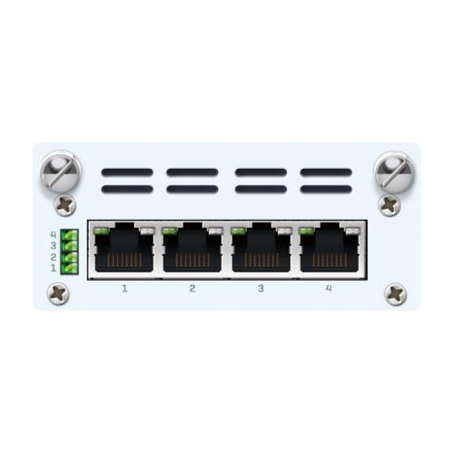 Sophos 4-Port GbE PoE FleXi-Port-Modul mit Stromversorgung (SGIZT2JEUK)