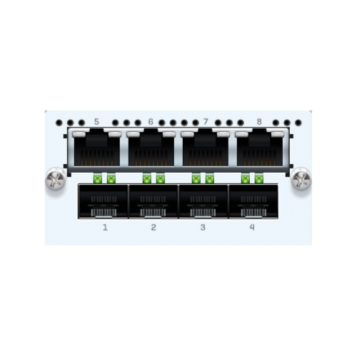 Sophos 4-Port GbE SFP & 4-Port GbE Kupfer LAN Bypass FleXi-Port-Modul (XGCZTCHF4)