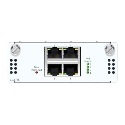 Sophos 4-Port 2,5GbE Kupfer PoE FleXi-Port-Modul (XSBZTCHC4)